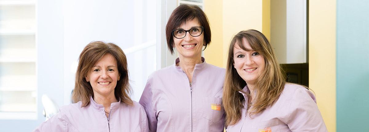 Studio Loro - dentista Biella - team amministrativo